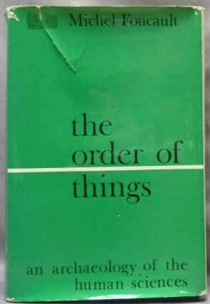 The Order of Things, an Archaeology of the Human Sciences; World of Man; A Library of Theory and...