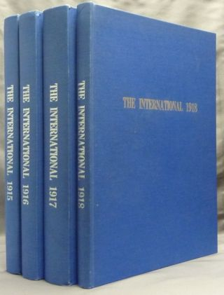 Four bound volumes containing 30 issues of 'The International: a Review of Two Worlds' covering...