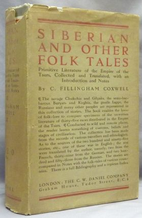 Siberian and Other Folk-Tales. Primitive Literature of the Empire of the Tsars.