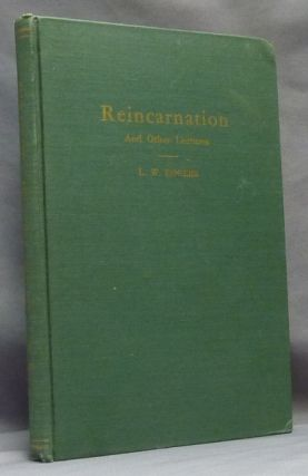 Reincarnation and Other Lectures. Theosophy, L. W. ROGERS, Louis William Rogers
