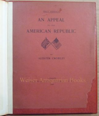An Appeal to the American Republic.