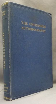 The Unfinished Autobiography of Alice A. Bailey. Alice A. BAILEY, Foster Bailey