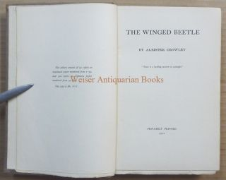 The Winged Beetle.