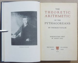 The Theoretic Arithmetic of the Pythagoreans.
