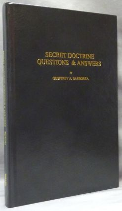 "Secret Doctrine Questions and Answers; Compiled from the bi-monthly periodical ""The Canadian Theosophist"""