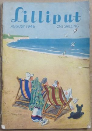 Lilliput, August - 1946. Vol. 19, No. 2. Issue No. 110. Aleister contributes an essay. Other...