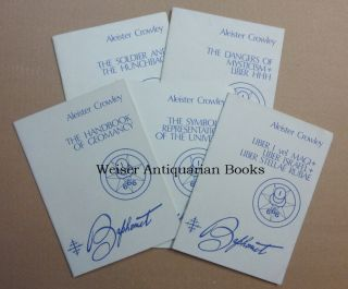 "A collection of 5 booklets published by the Unicorn Press in the 1970s: ""The Dangers of Mysticism..."