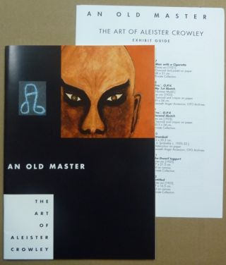 An Old Master. The Art of Aleister Crowley + Separate 'Exhibit Guide'.
