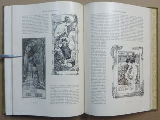 The Studio, An Illustrated Magazine of Fine and Applied Art - Extra Winter Numbers for 1894-1895, 1896-1897, 1897-1898 & 1898-1899.