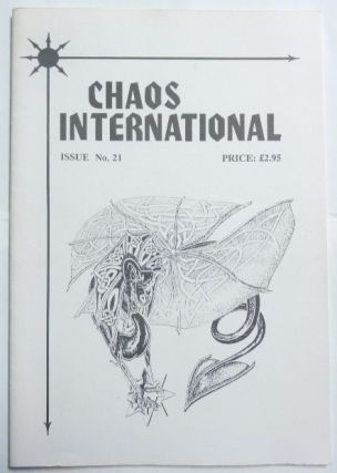 Chaos International Issue No. 21. Ian READ, authors including Phil Hine, Peter Carroll