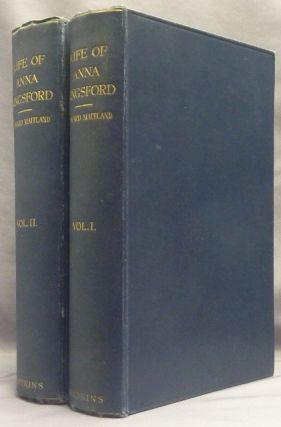 Anna Kingsford: Her Life, Letters, Diary and Work ( Two Volume Set ). Theosophy, Edward MAITLAND,...