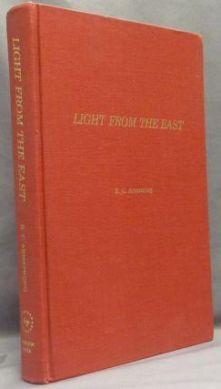 Light From The East, Studies in Japanese Confucianism; [ University of Toronto Studies Philosophy...