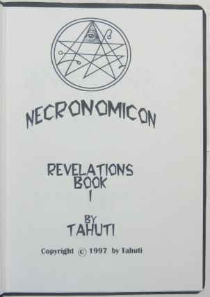 Necronomicon. Revelations Book I, On the Fifty Names of Marduk and The Super-Charging of The Seals.