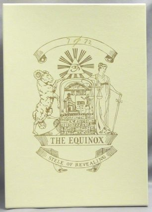 """""""The Equinox Stele"""". A Limited Edition Reproduction of Crowley's 1937 Miniature Stele of Revealing used to advertise his publication """"The Equinox of the Gods"""""""