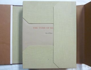 The Tomb of Ramesses VI Texts and Plates Bollingen Series XL. Vol. 1. Egyptian Religious Texts and Representations. ( 2 Volumes in slipcase ).