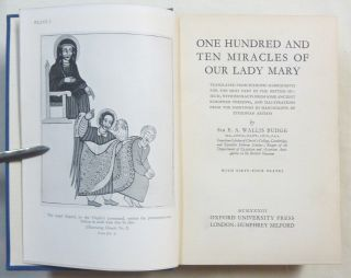 One Hundred and Ten Miracles of Our Lady Mary, Translated From Ethiopic Manuscripts for the Most Part in the British Museum, With Extracts From Some Ancient European Versions, and Illustrations From The Paintings in Manuscripts by Ethiopian Artists.