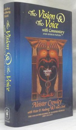 The Vision and the Voice. With Commentary and Other Papers. The Equinox Vol. IV, Number II.;...