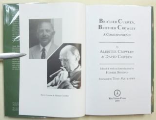 Brother Curwen, Brother Crowley. A Correspondence.