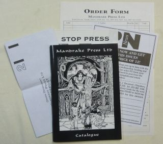 Mandrake Press Ltd. Catalogue [ Includes Louis Wilkinson's Introduction to the Abridged...