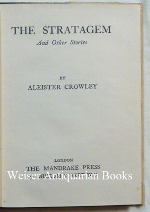 The Stratagem and Other Stories.