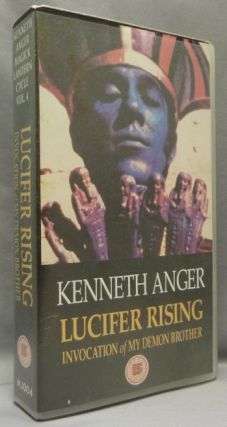 Kenneth Anger, Magick Lantern Cycle, Volumes 1 - 4, VHS VIDEO TAPES. Volume: 1 Fireworks, Eaux of D'Artifice + Rabbit's Moon. Volume: 2 The Inauguration of the Pleasure Dome. Volume 3: Scorpio Rising, Kustom Kar Kommandos and Volume 4: Lucifer Invocation of My Demon Brother, Lucifer Rising.