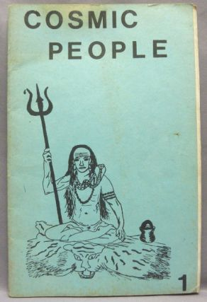 Cosmic People. No. 1. DADAJI -, Shri Dadaji Gurudev Mahendranath, Aleister Crowley related works,...