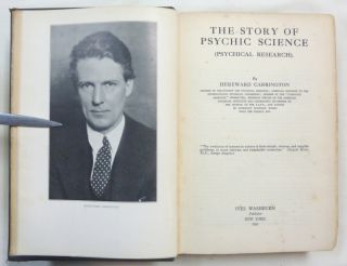 The Story of Psychic Science ( Psychical Research ).
