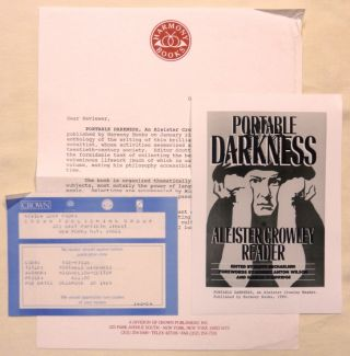 Portable Darkness an Aleister Crowley Reader [ Review Copy ].