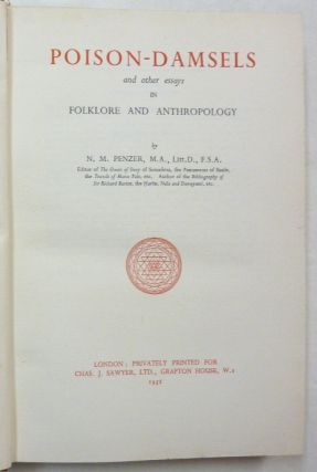 Poison-Damsels, and other Essays in Folklore and Anthropology [ Poison Damsels ].
